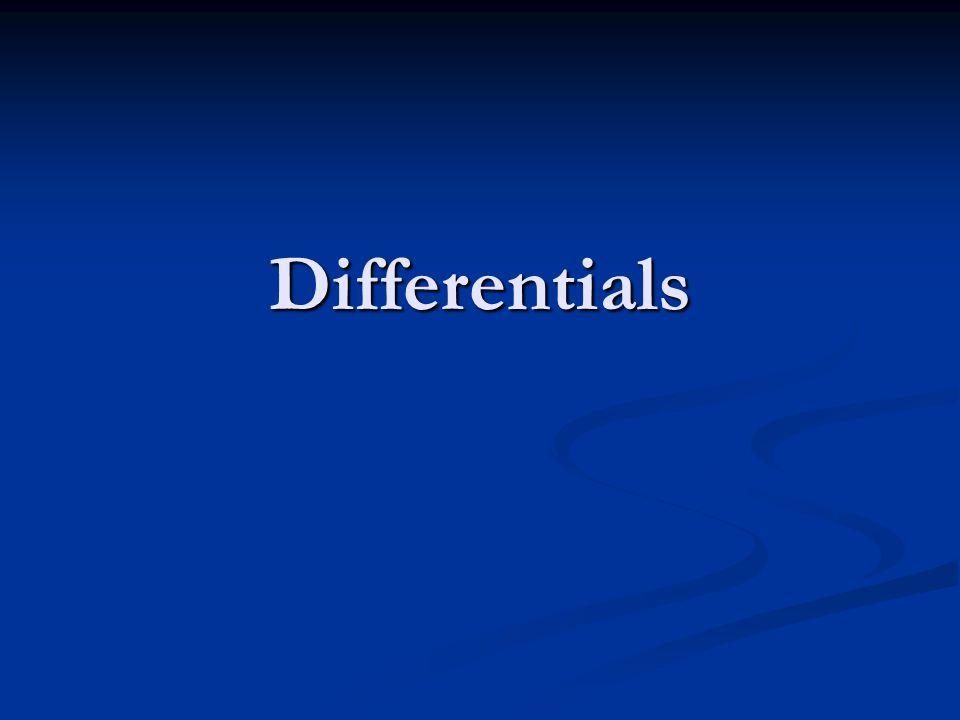 Differentials