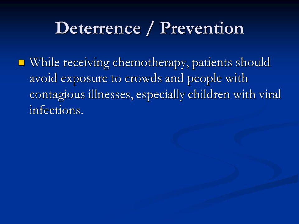 Deterrence / Prevention