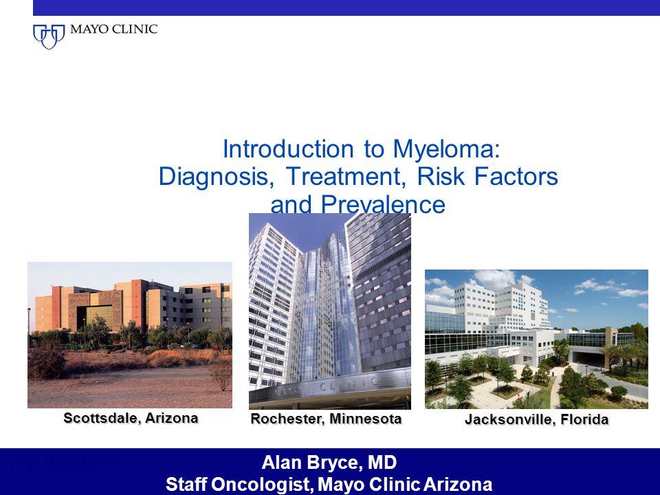 Staff Oncologist, Mayo Clinic Arizona
