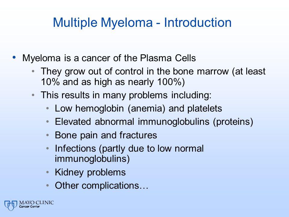 Multiple Myeloma - Introduction