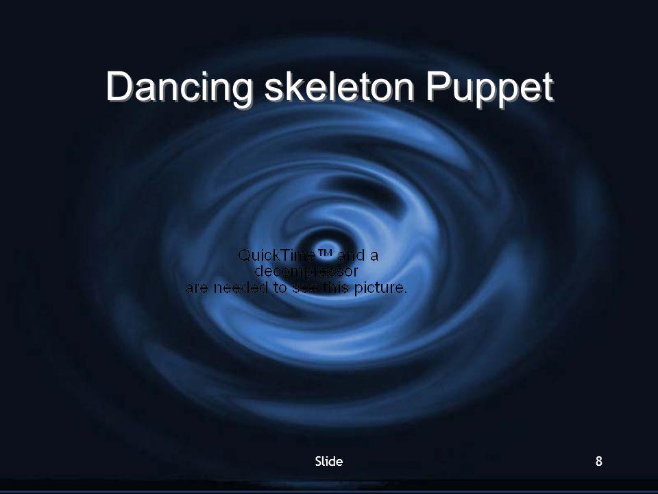 Dancing skeleton Puppet
