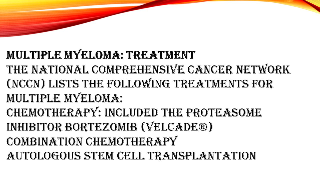 Multiple Myeloma: Treatment