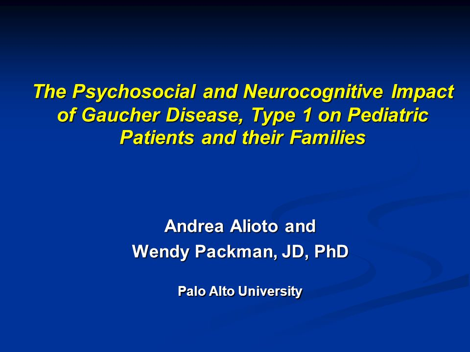 Andrea Alioto and Wendy Packman, JD, PhD Palo Alto University