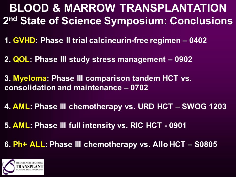 BLOOD & MARROW TRANSPLANTATION