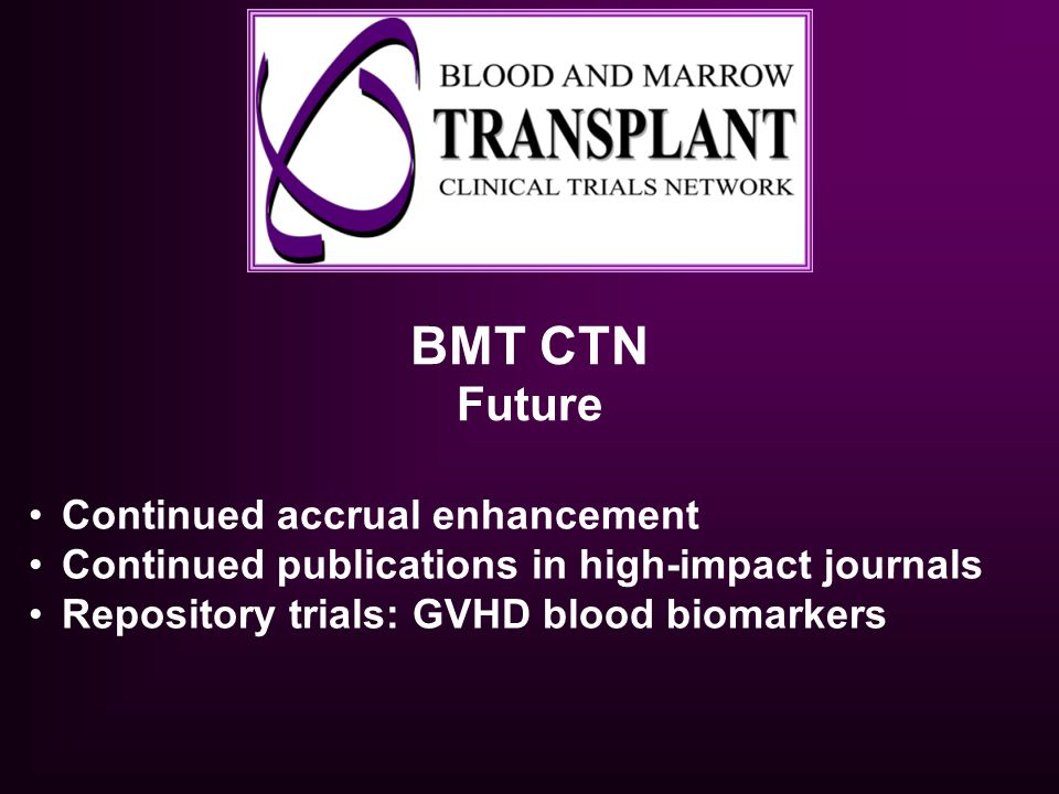 BMT CTN Future Continued accrual enhancement