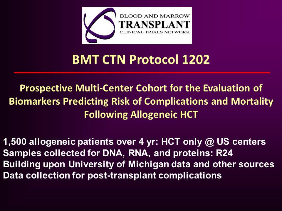 BMT CTN Protocol 1202
