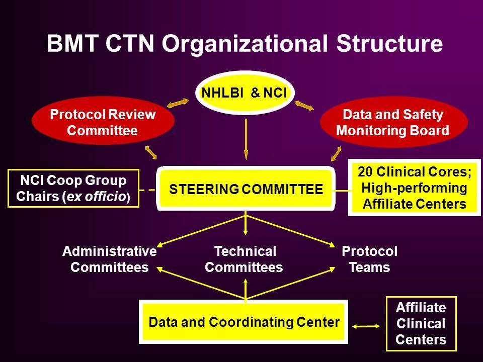 BMT CTN Organizational Structure