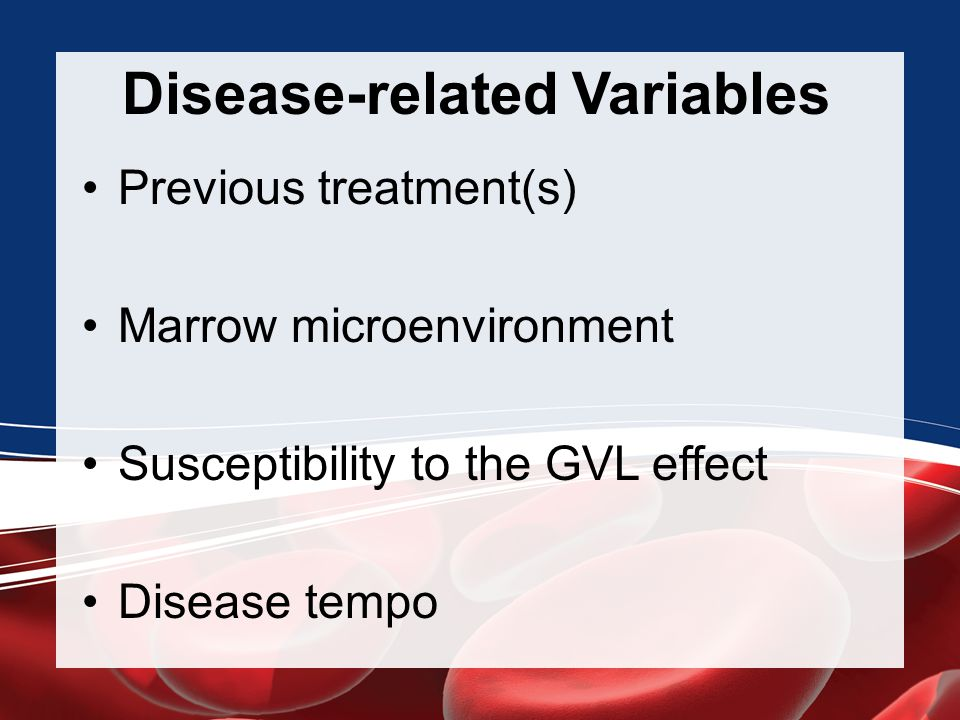 Disease-related Variables