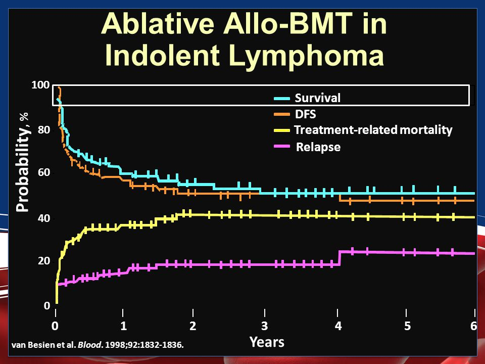 Ablative Allo-BMT in Indolent Lymphoma