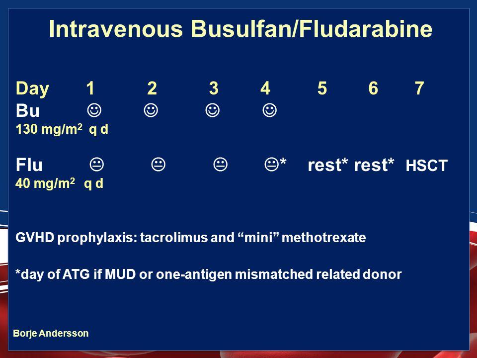 Intravenous Busulfan/Fludarabine