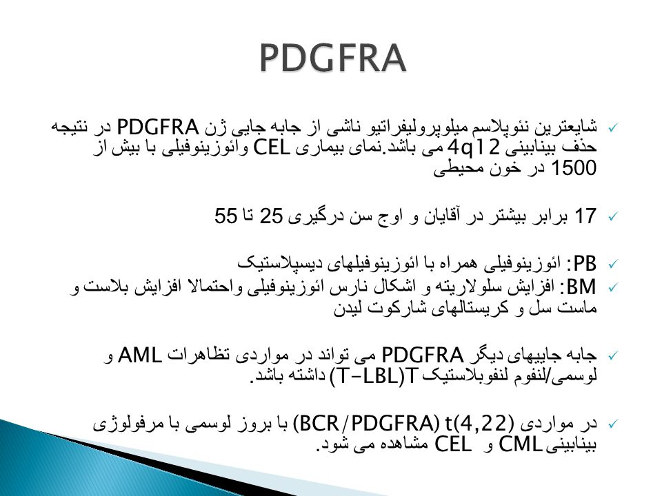 PDGFRA