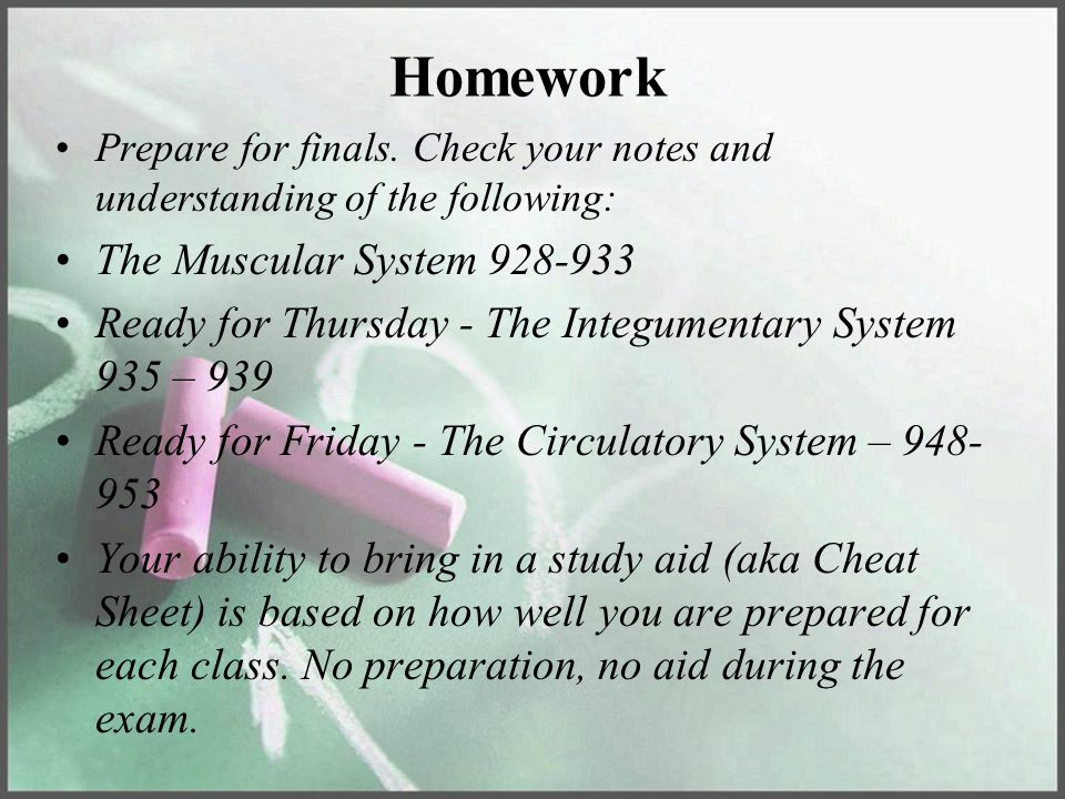 Homework The Muscular System 928-933