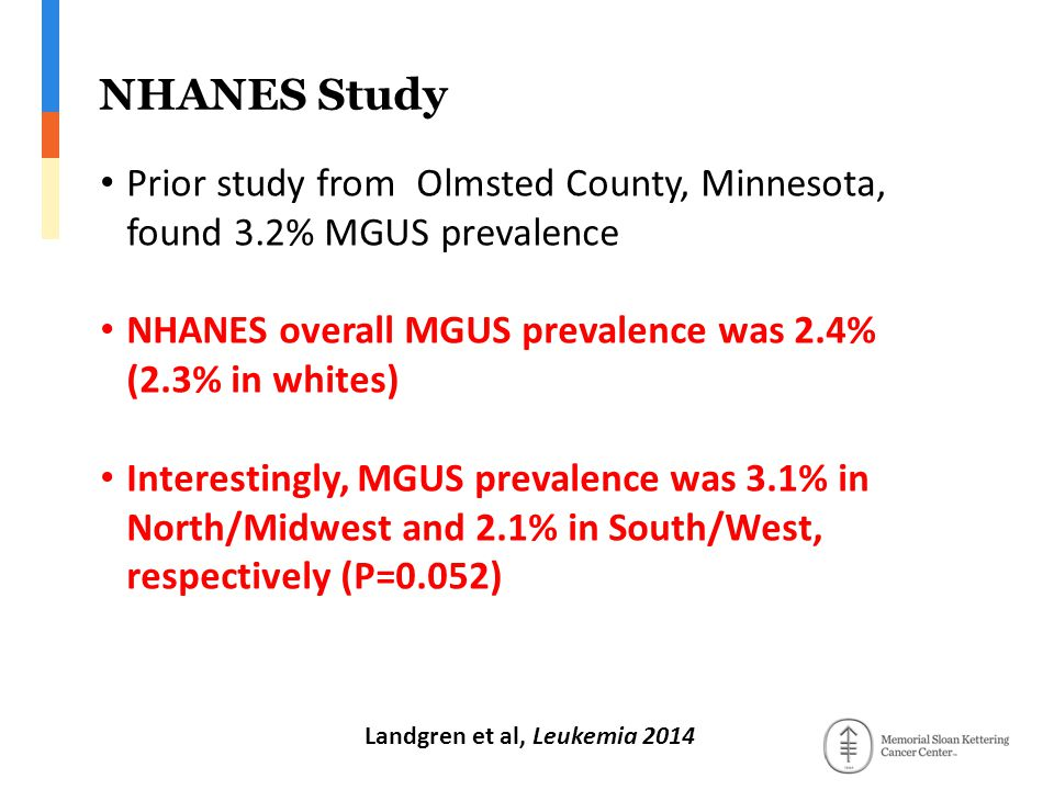 Landgren et al, Leukemia 2014