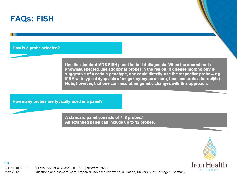 FAQs: FISH How is a probe selected