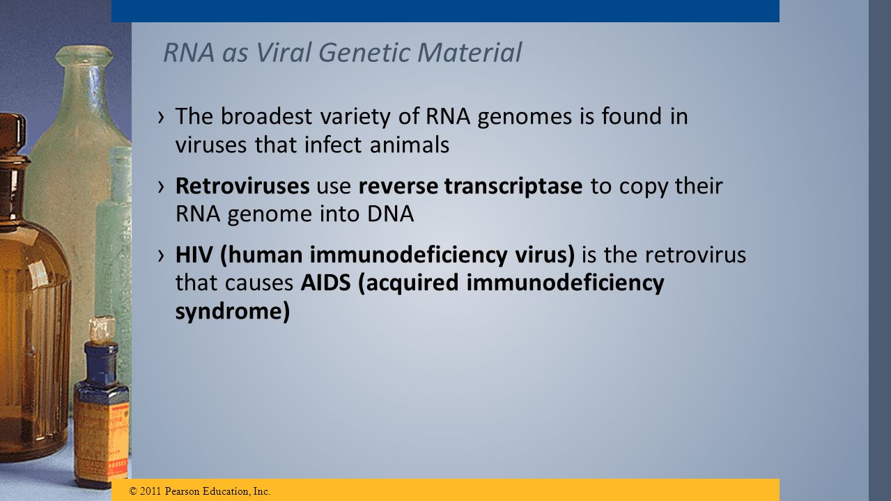 RNA as Viral Genetic Material