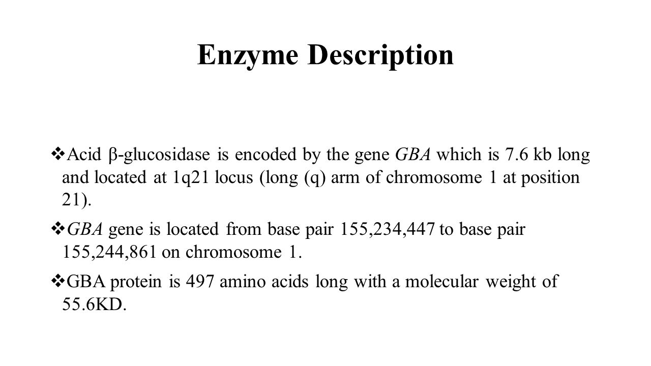 Enzyme Description