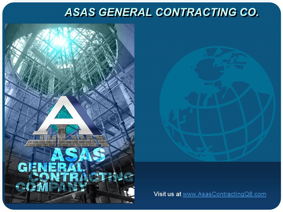 ASAS GENERAL CONTRACTING CO.