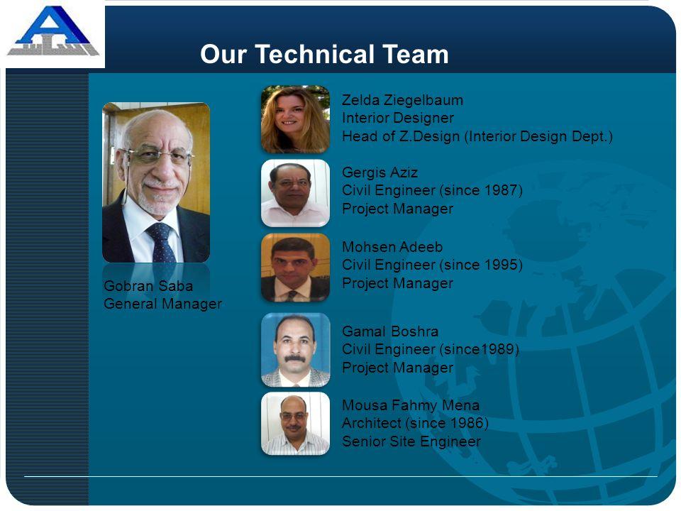 Our Technical Team Zelda Ziegelbaum Interior Designer
