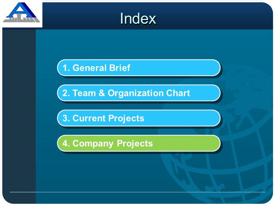 Index 1. General Brief 2. Team & Organization Chart
