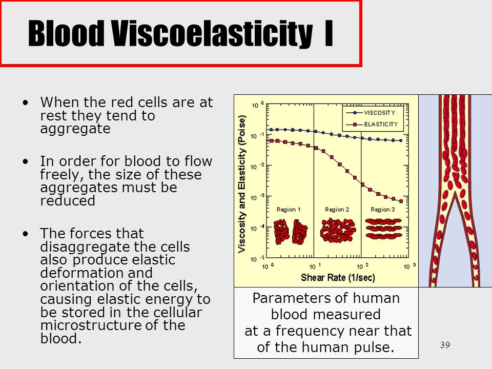 Blood Viscoelasticity I