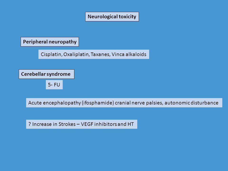 Neurological toxicity