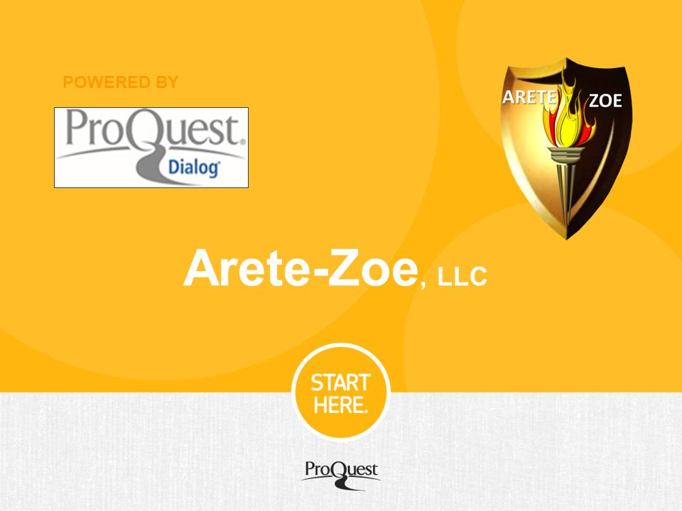 POWERED BY Arete-Zoe, LLC