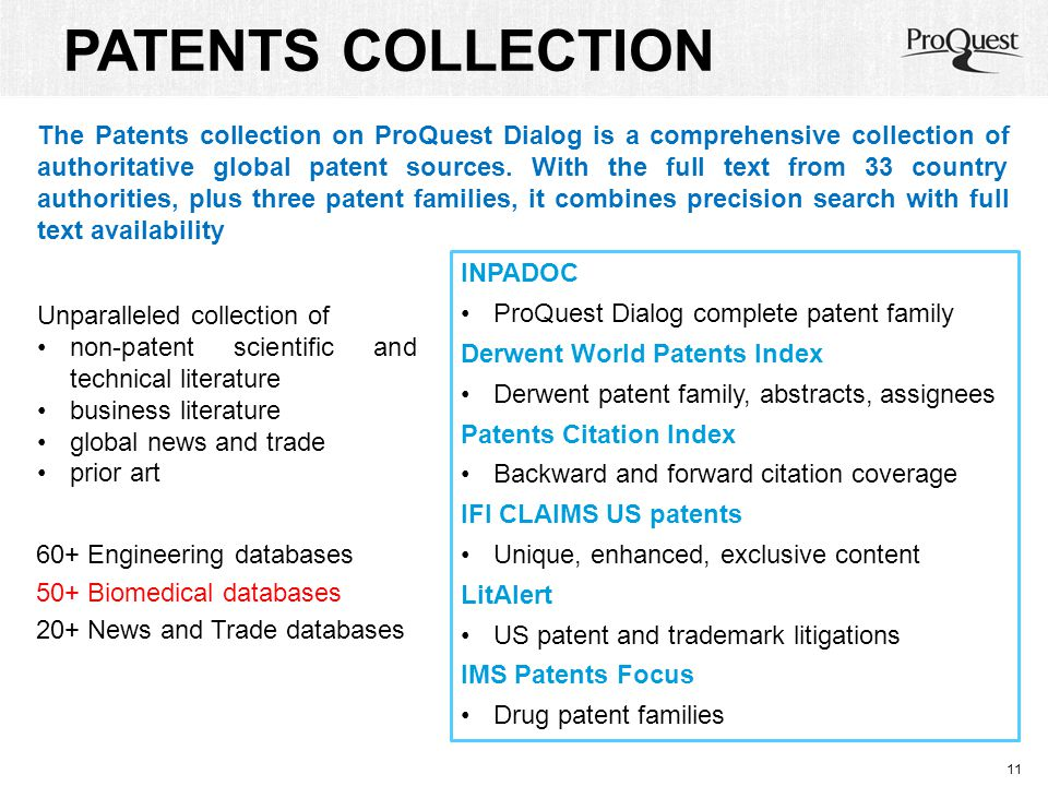 PATENTS COLLECTION