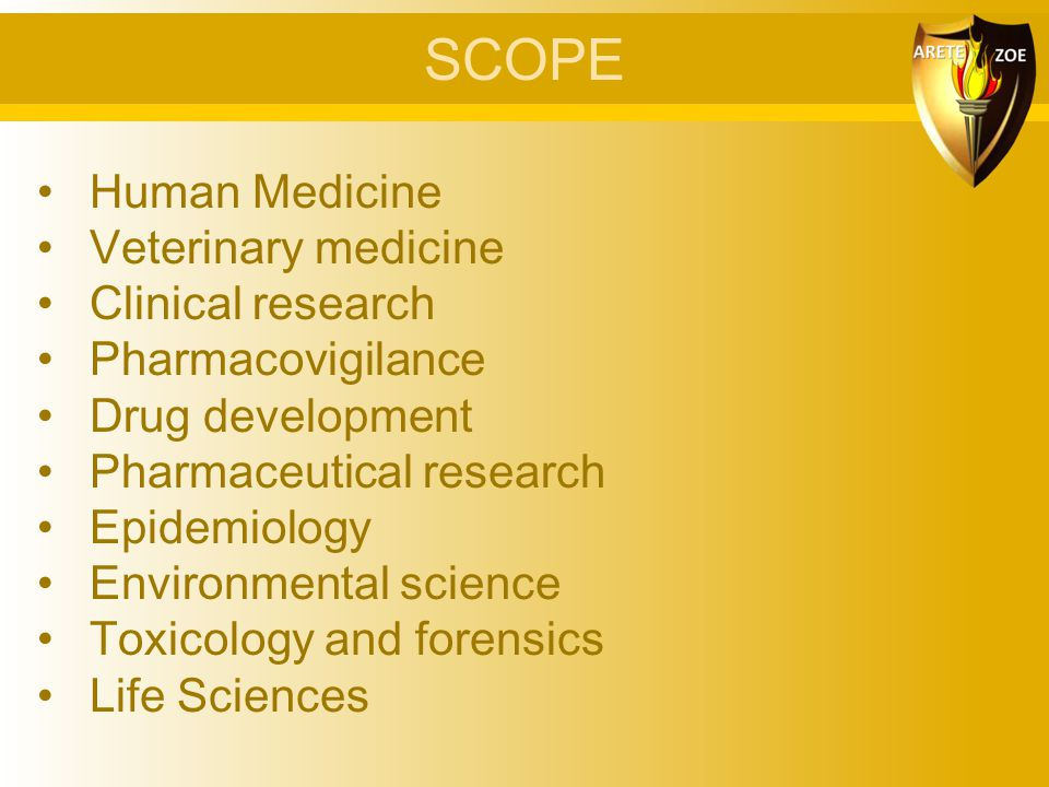 SCOPE Human Medicine Veterinary medicine Clinical research