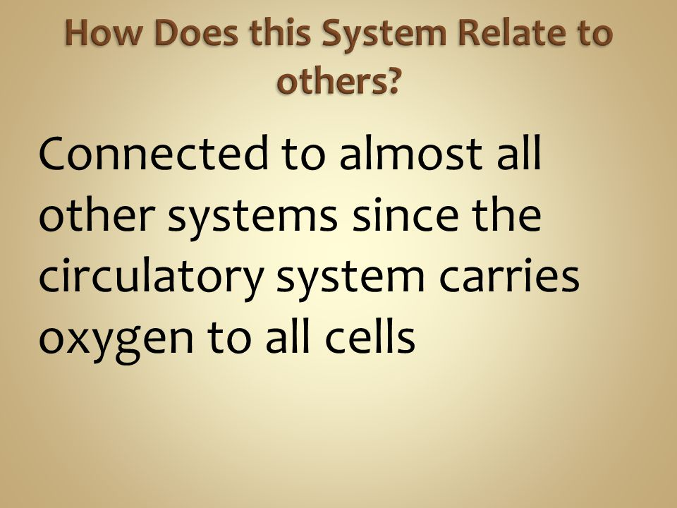 How Does this System Relate to others