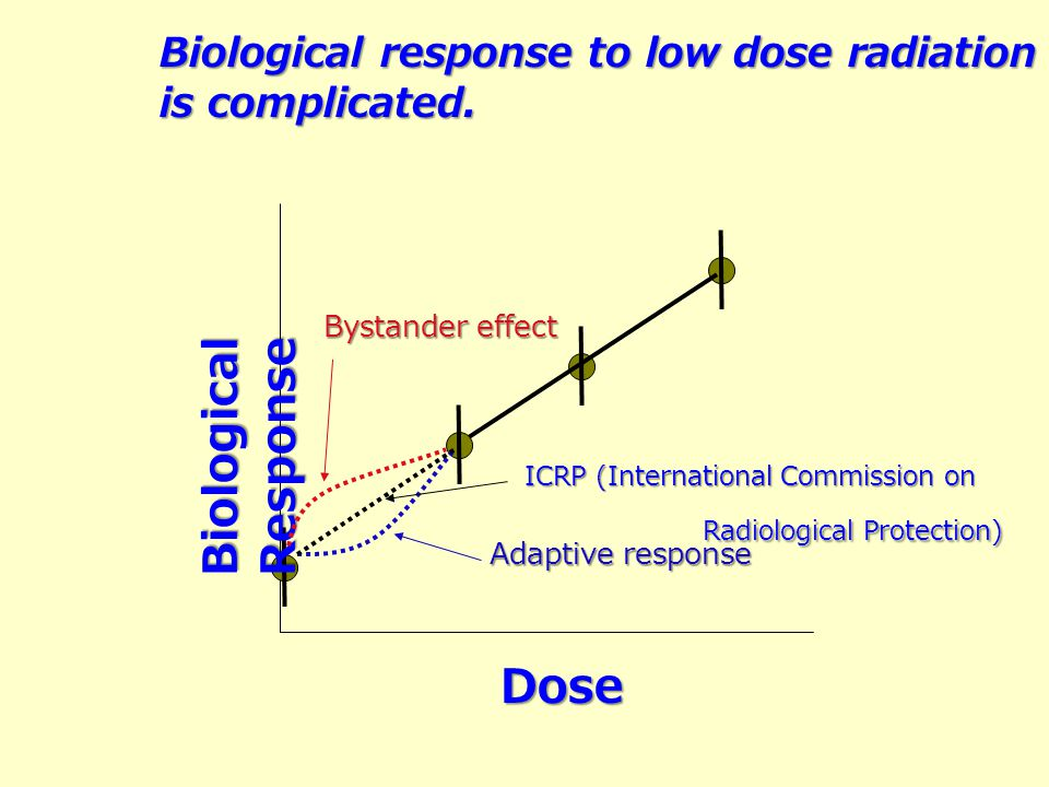 Biological Response Dose Biological response to low dose radiation