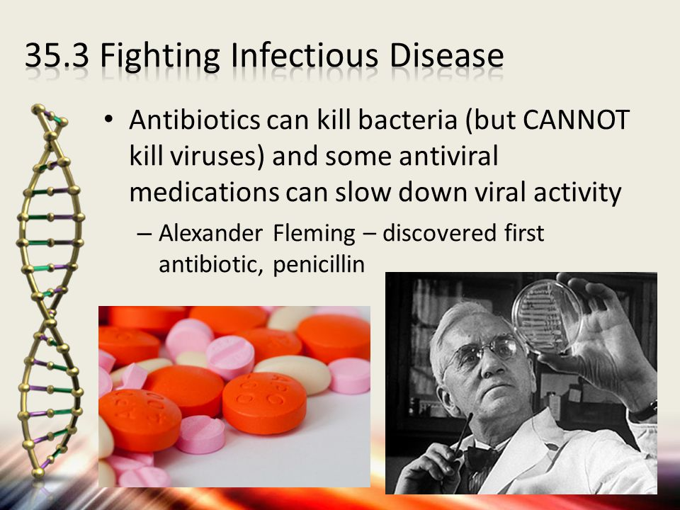 35.3 Fighting Infectious Disease