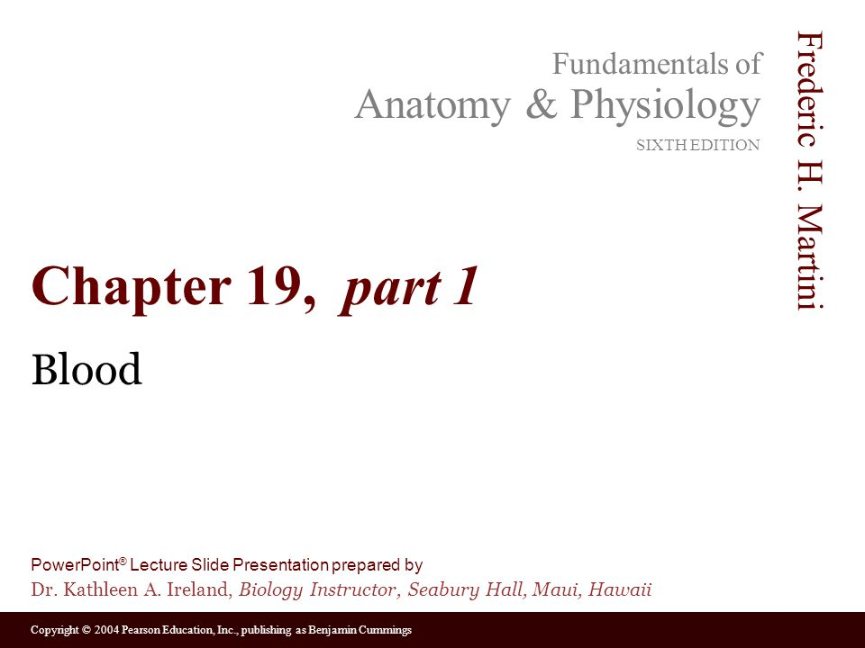 Chapter 19, part 1 Blood. - ppt video online download