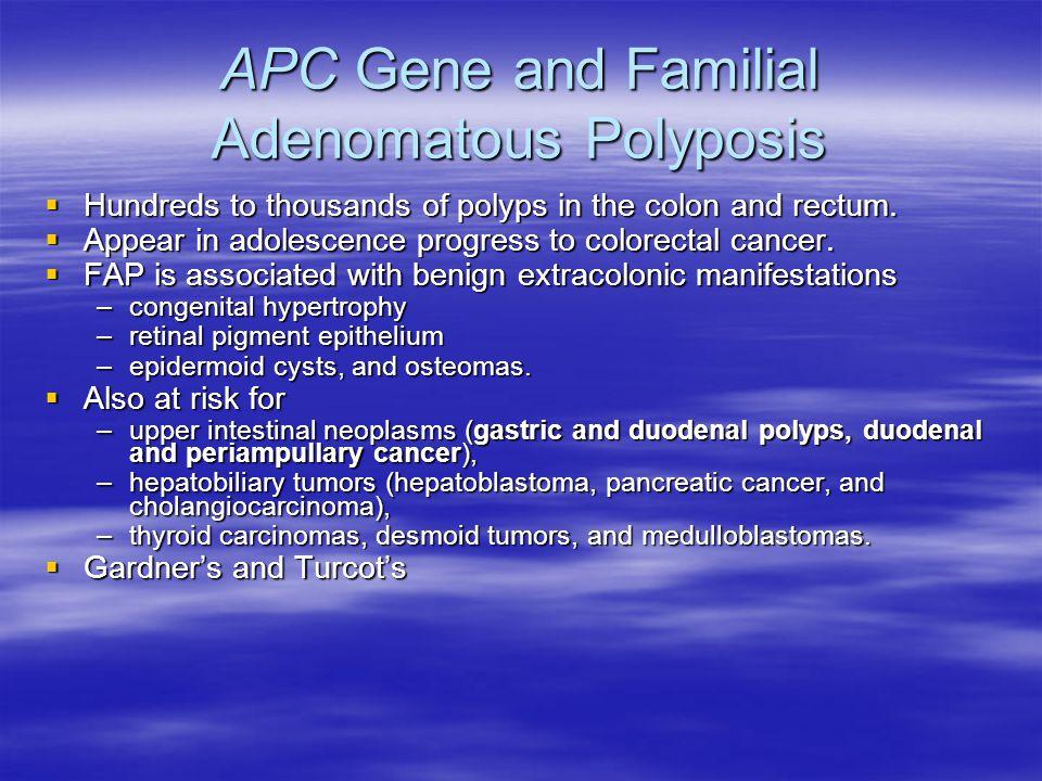 APC Gene and Familial Adenomatous Polyposis