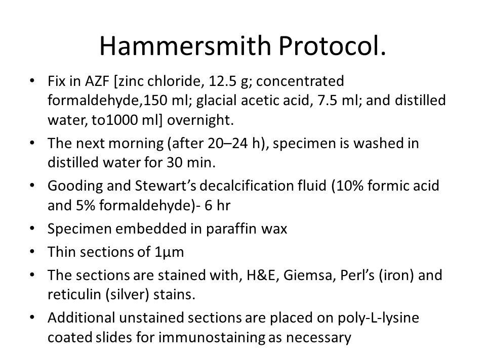 Hammersmith Protocol.