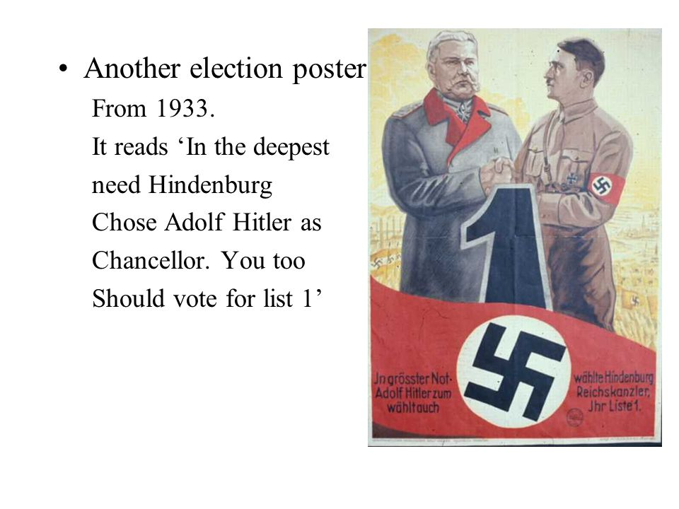 Another election poster