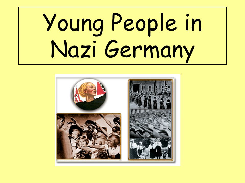 Young People in Nazi Germany