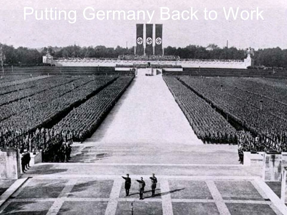 Putting Germany Back to Work