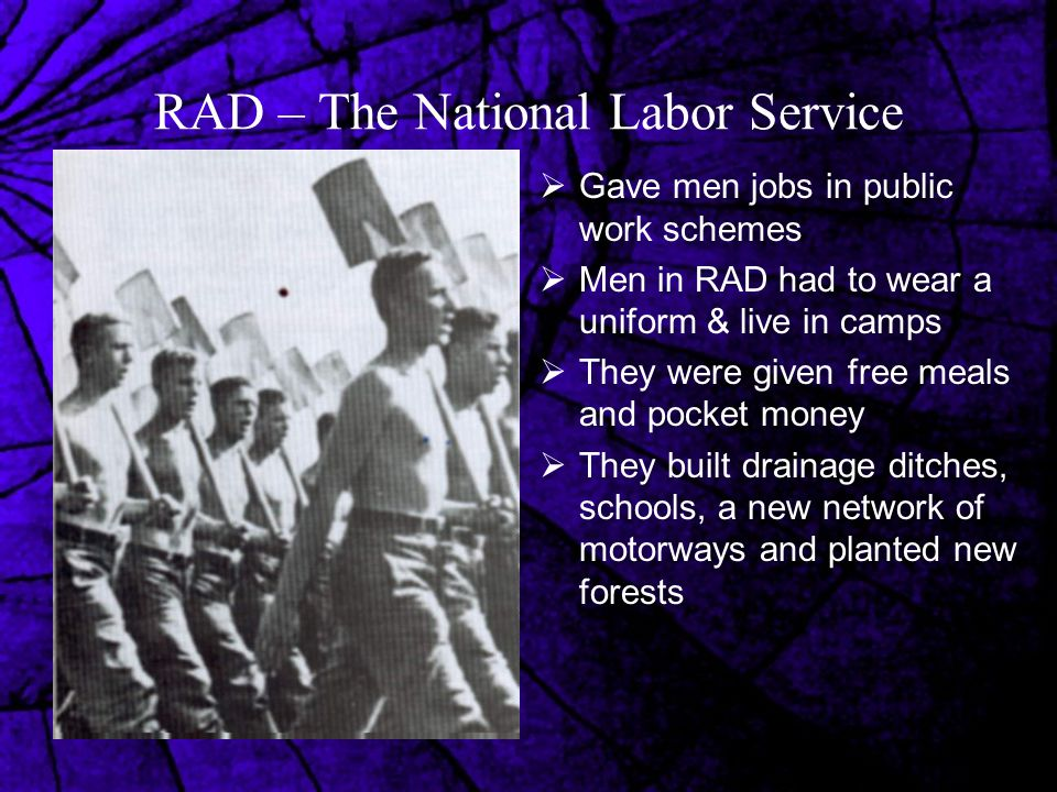 RAD – The National Labor Service