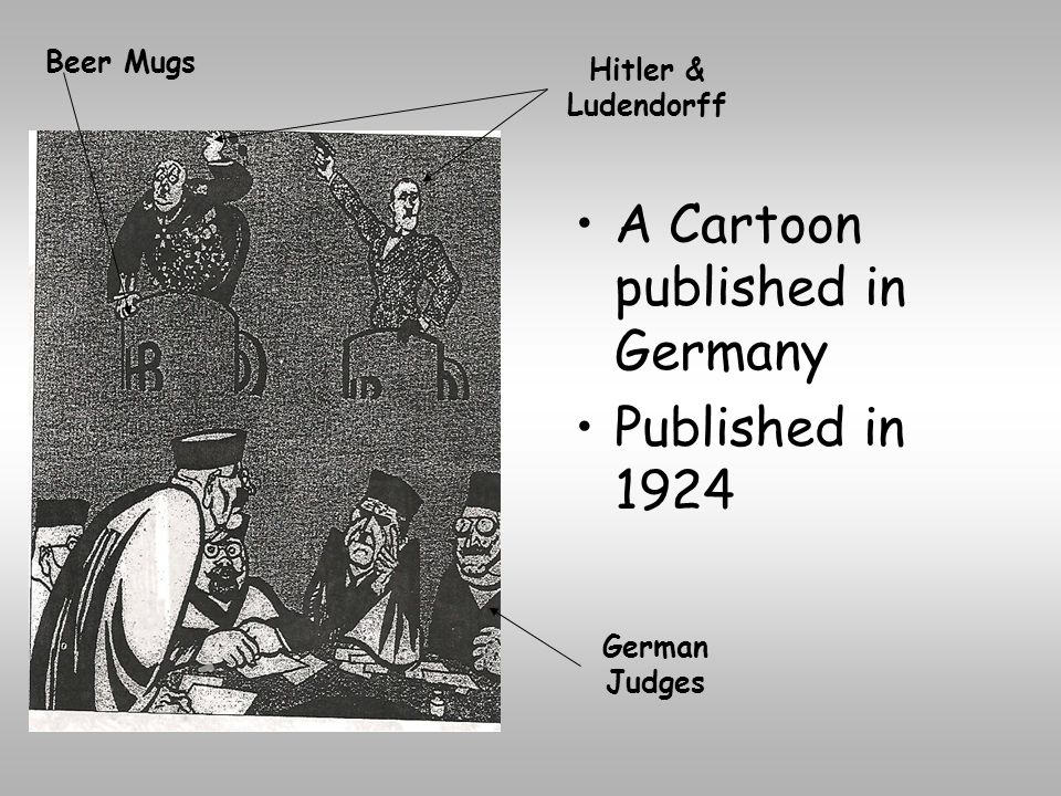 A Cartoon published in Germany