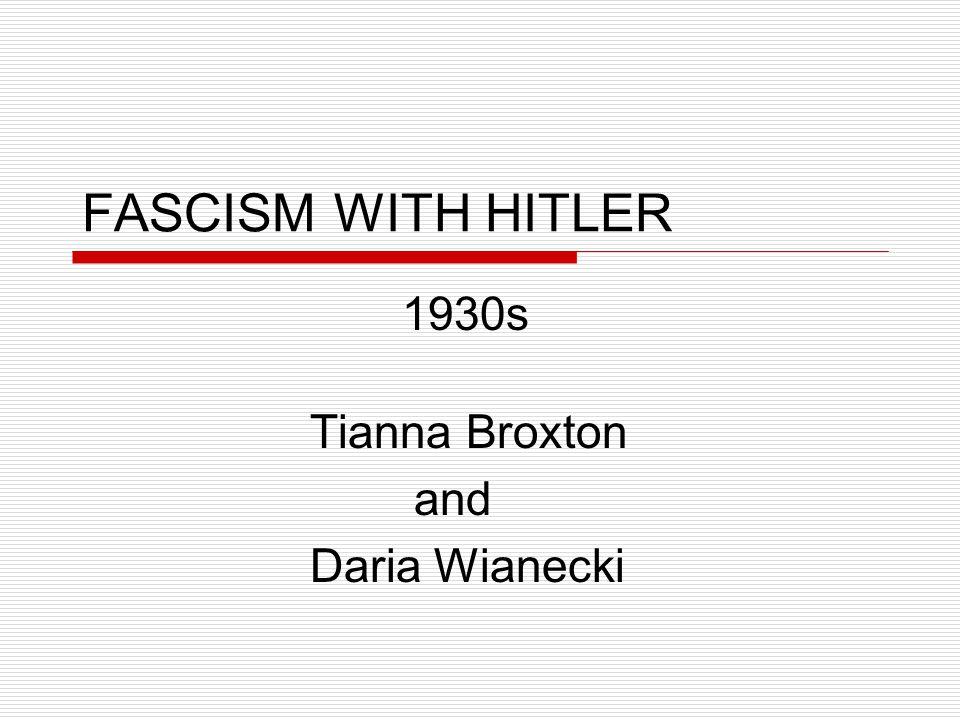 1930s Tianna Broxton and Daria Wianecki