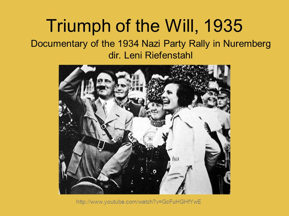 Documentary of the 1934 Nazi Party Rally in Nuremberg