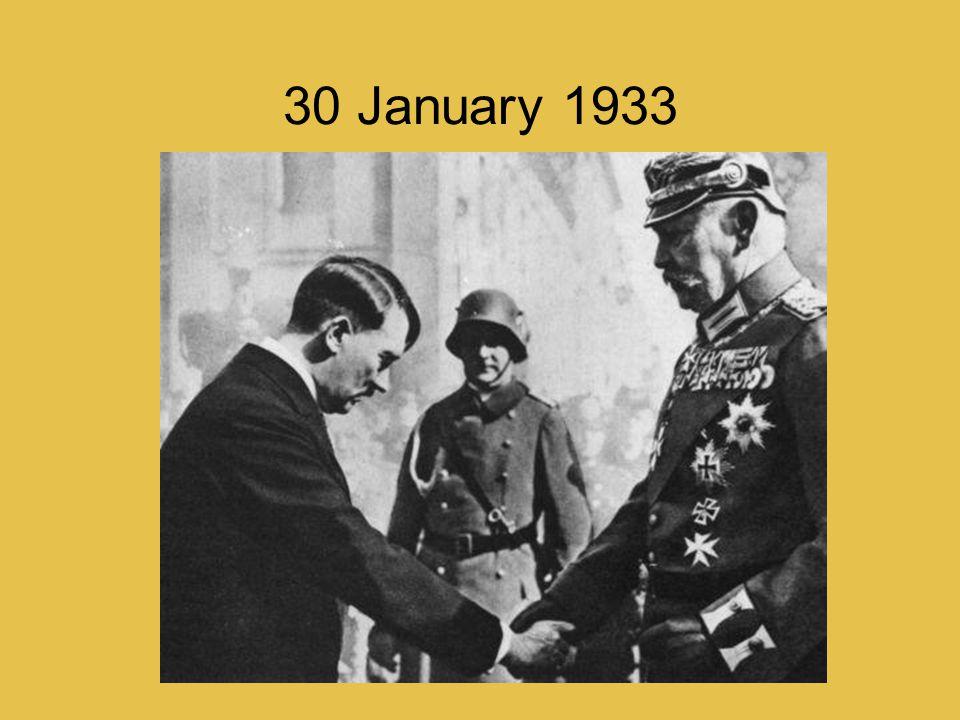 30 January 1933
