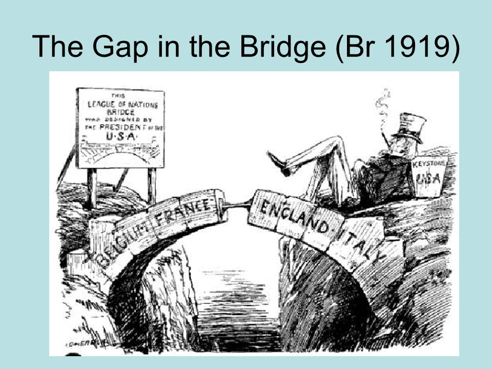 The Gap in the Bridge (Br 1919)