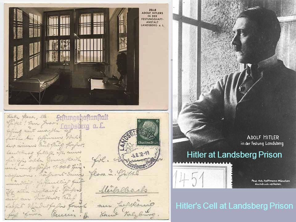Hitler at Landsberg Prison