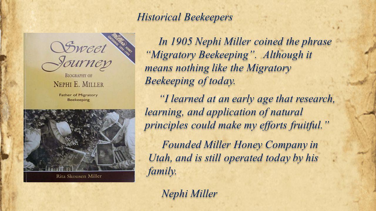 Historical Beekeepers