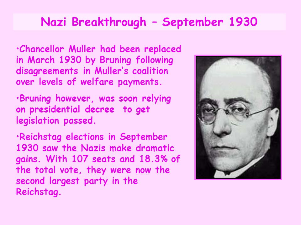 Nazi Breakthrough – September 1930