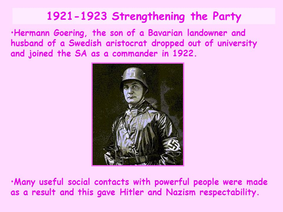 1921-1923 Strengthening the Party