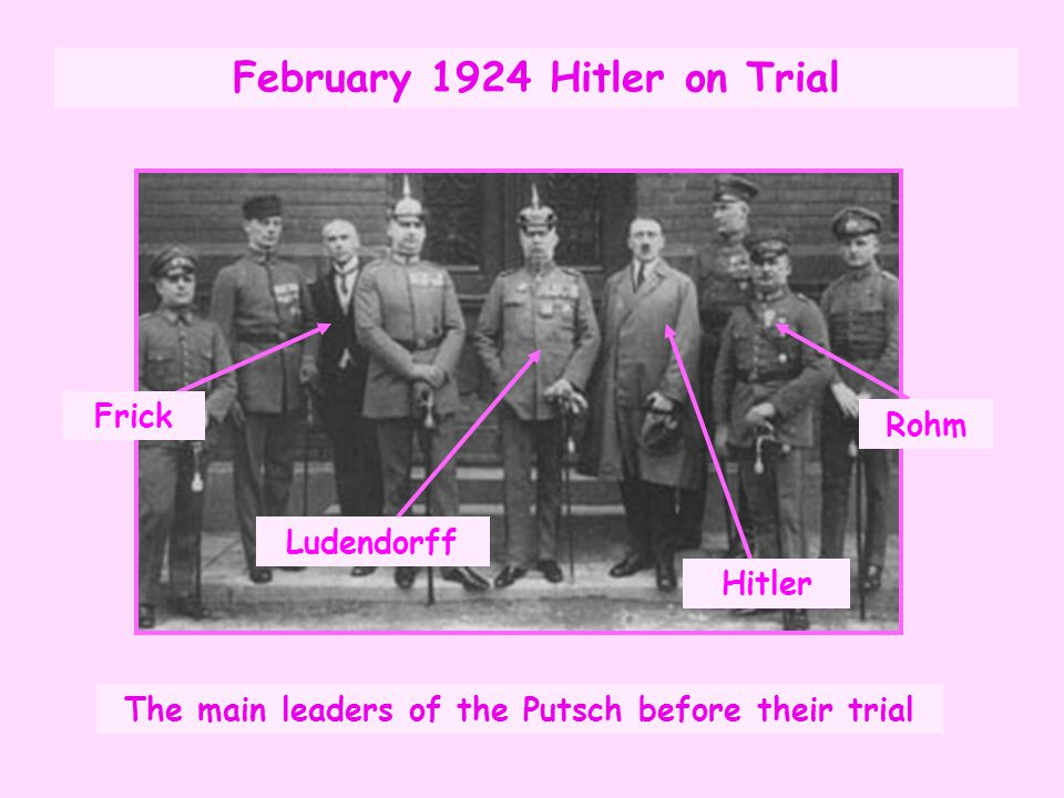 February 1924 Hitler on Trial