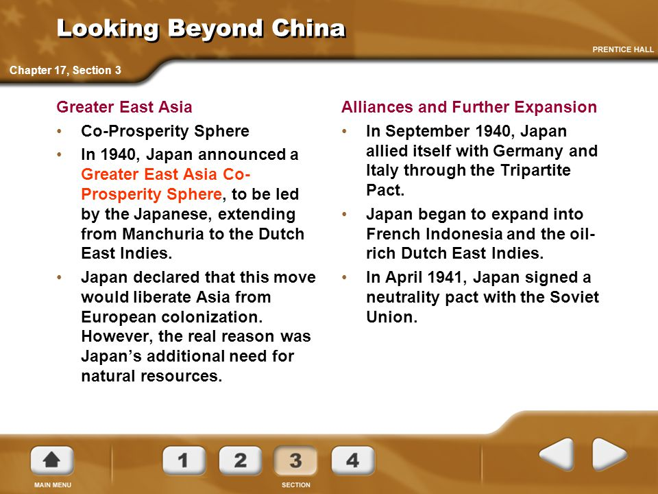 Looking Beyond China Greater East Asia Co-Prosperity Sphere
