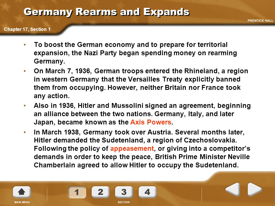 Germany Rearms and Expands